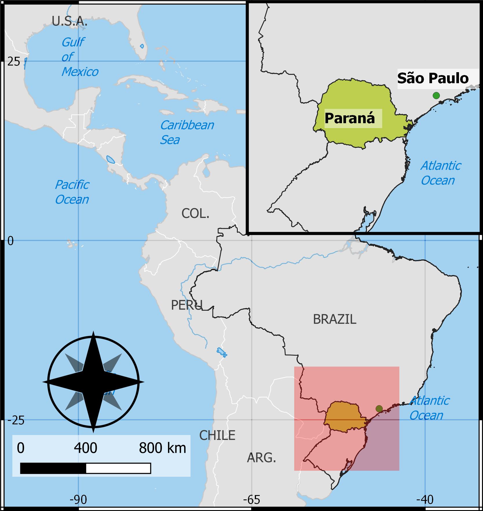 Adriana Alves parana map 3