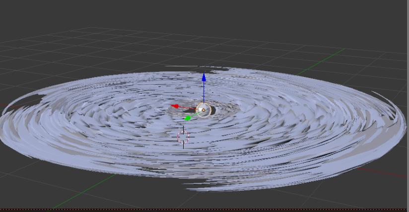 protoplanetary model