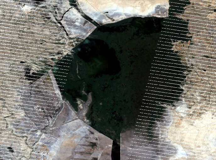 landsat black stripes 4